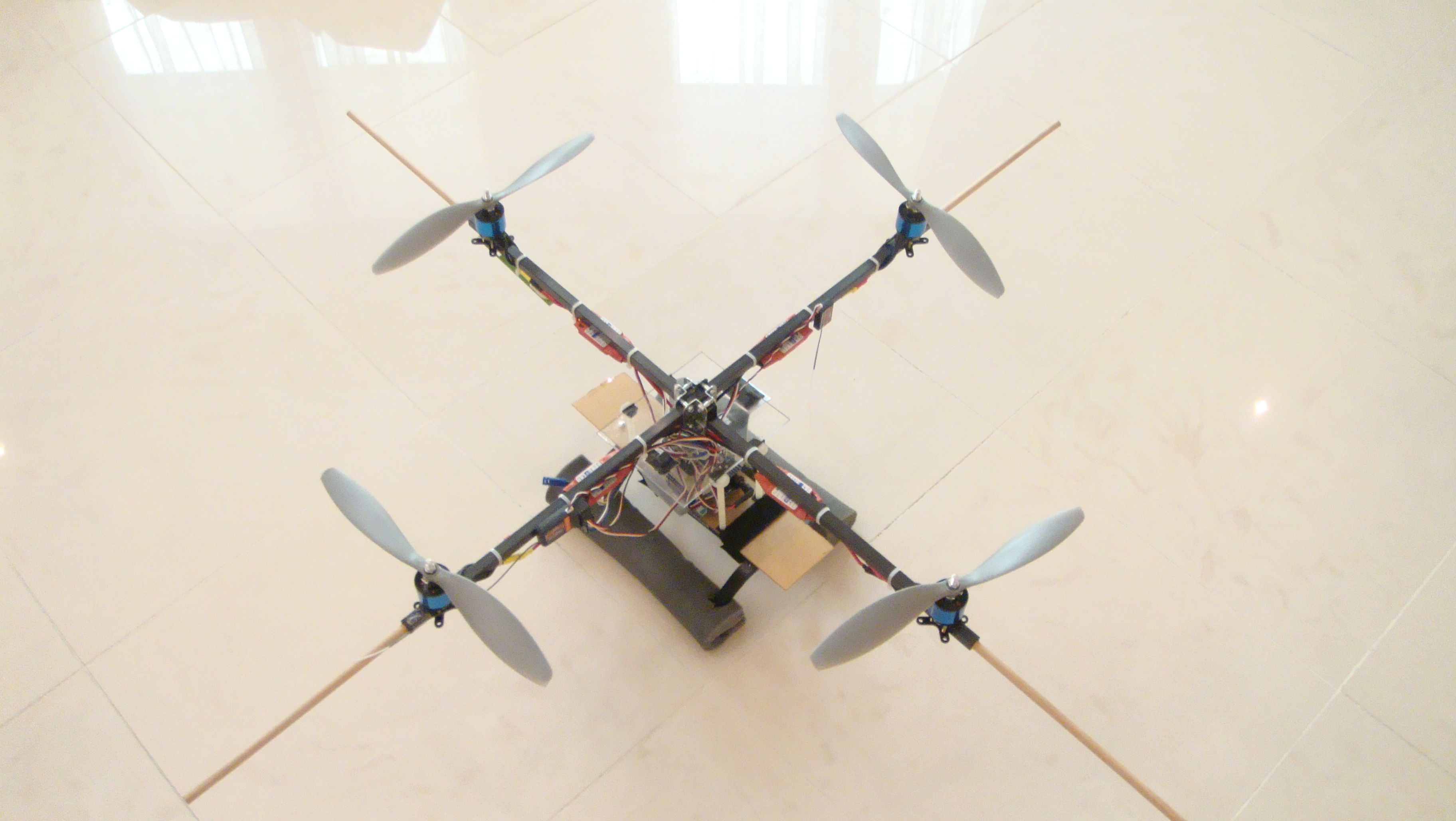 Building a Quadrotor – Master thesis