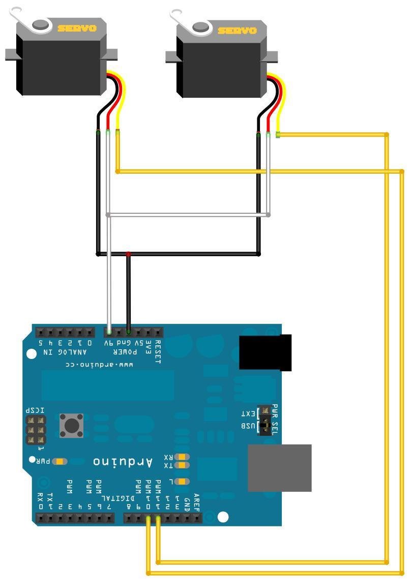 Continuous servo motor arduino code impremedia